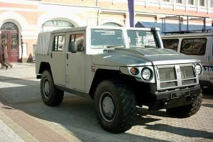Гордость отечества – военный автомобиль Тигр ГАЗ-2330