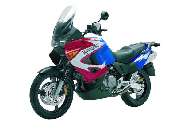 Тюнинг Honda Varadero XL 1000 V красно-синий байк