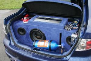 Установка закись азота в багажник