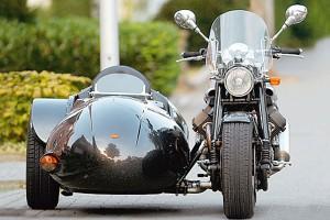 Коляска фирмы R. O. S. для Harley – Davidson фото