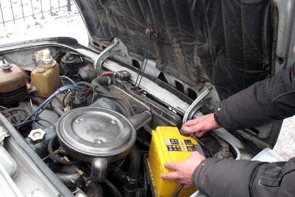 Зимний аккумулятор для авто
