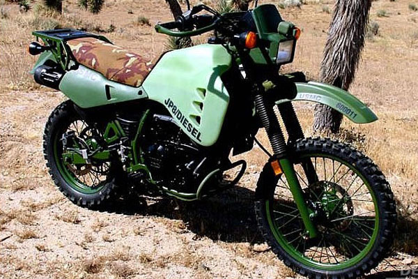 Дизельный мотоцикл HDT M103M1