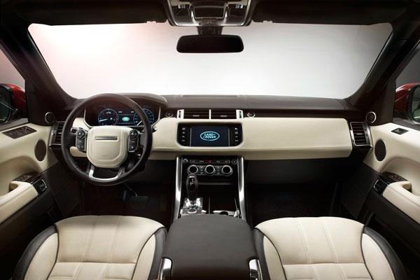 Range Rover Sport 2014 фото салона
