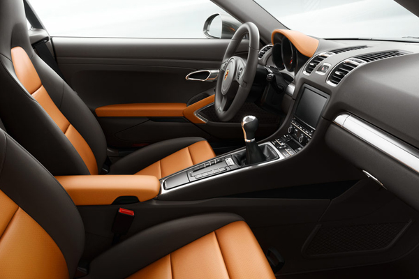 Porsche Cayman фото салона