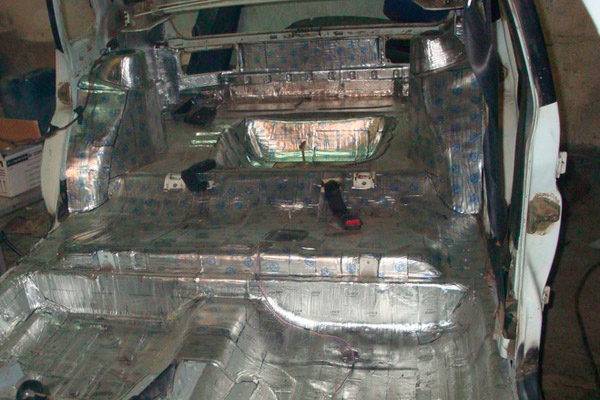 Шумоизоляция салона ВАЗ 21099