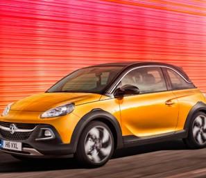 Новый Opel Adam Rocks фото