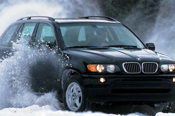 Авто готово для езды зимой.