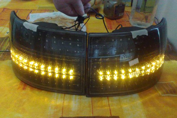 Светодиодные фары (фото-2)
