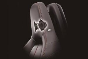 Mazda - динамики в подголовниках фото