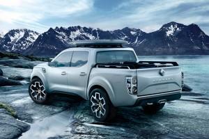 Renault Alaskan пикап фото