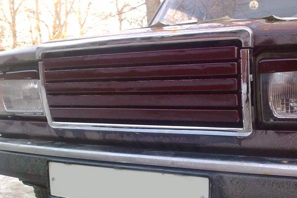 Решетка радиатора ВАЗ 2107: особенности тюнинга (Видео) 75