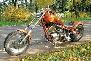 мотоцикла Урал своими руками