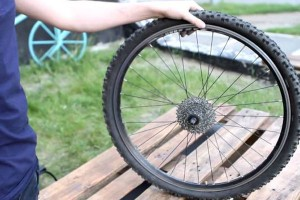 Камеру на велосипеде
