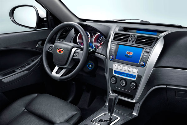 Geely Emgrand X7 фото салона