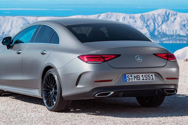 Четырехъядерный купе Mercedes CLS (фото-2)